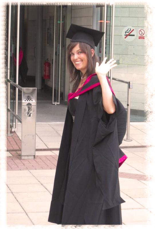 Ermy's Graduation at Warwick University