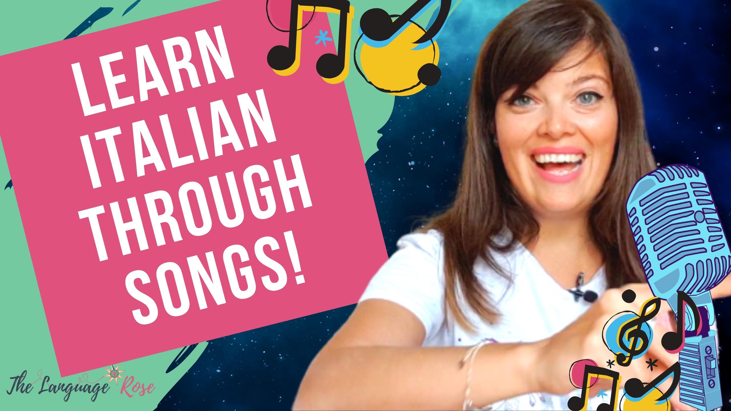YT-Learn Italian through songs