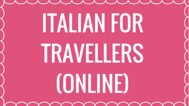 online Italian for travellers