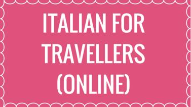 online Italian for travellers
