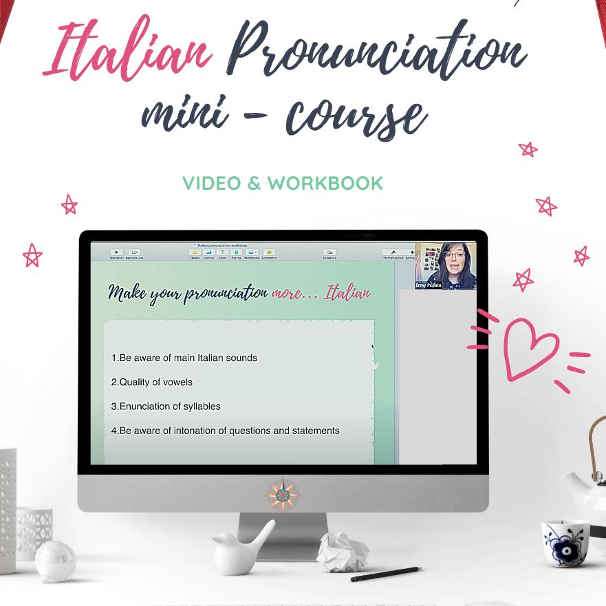 Italian pronunciation mini-course - how to sound more Italian